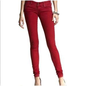 Express Slim Fit Ultra Low Rise Jean Legging